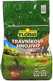 Hnojivo na trávnik Floria - starostlivosť o trávnik