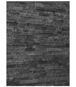 Obkladový kameň čierny mramor