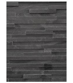 Obkladový kameň moderný čierny mramor