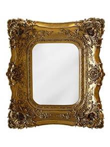 Rustikálne zrkadlo s ornamentami - ako si vybrať zrkadlo