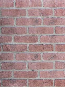Tehlový obklad KRX Klasik F13 - stena z tehál a tehlové obklady