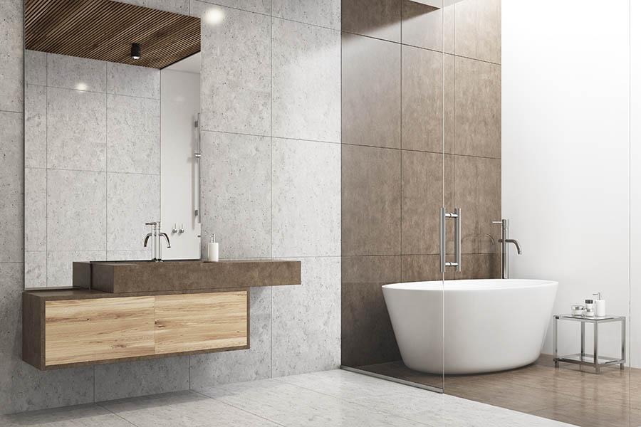 Prerobená kúpeľňa - bytové jadro
