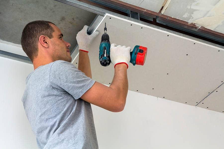 Montáž sadrokartónu - strop