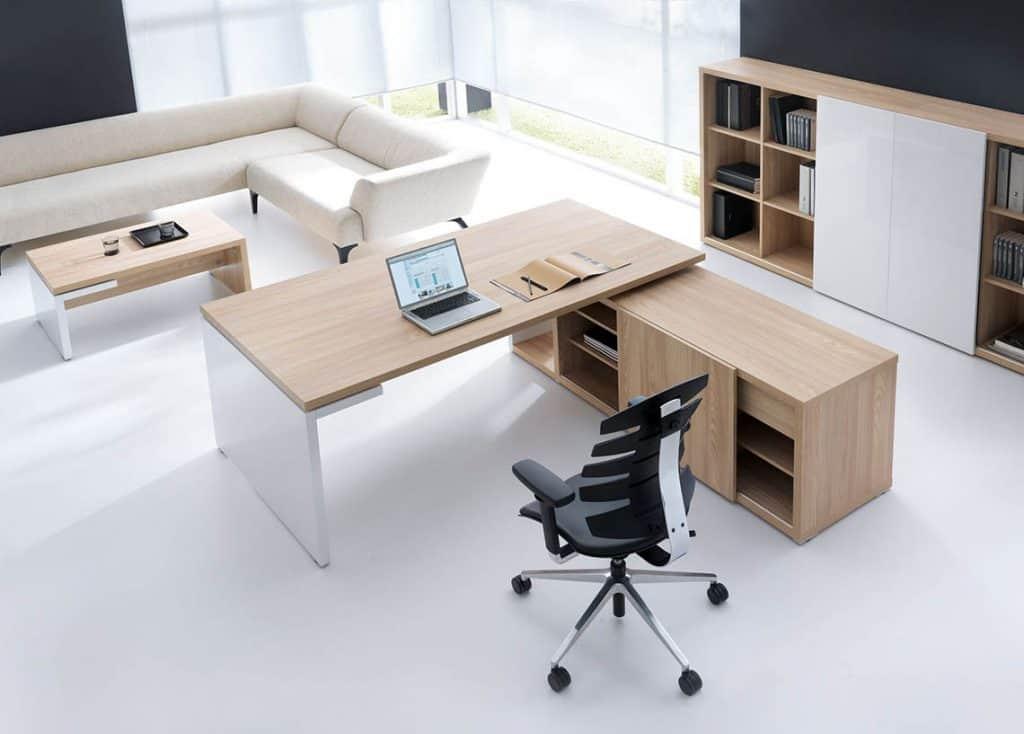 3D kancelária vizualizácia