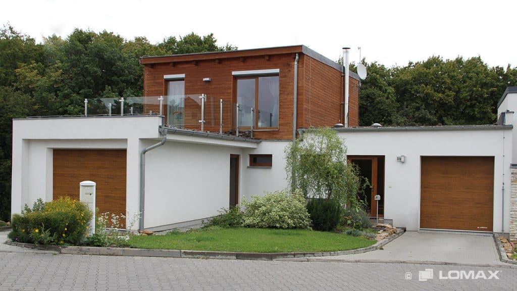 Lomax - garážové brány, vchodové dvere, predokenné rolety a žalúzie