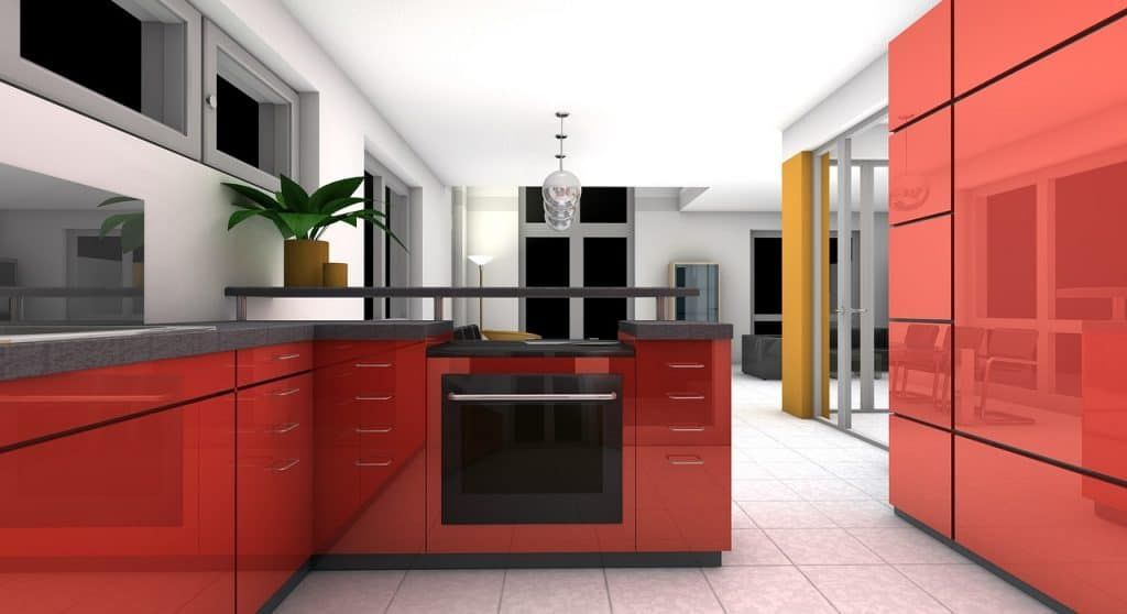 Návrh kuchyne