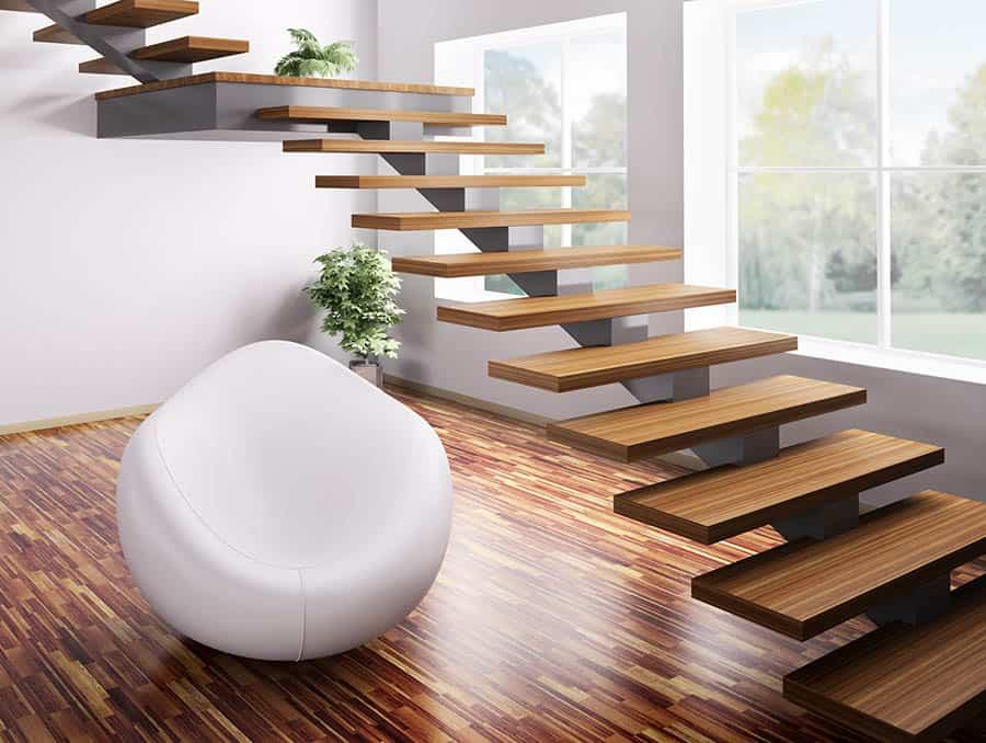 Moderné schodisko
