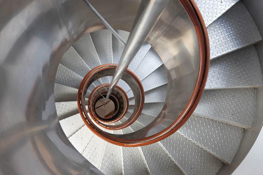 Točité schodisko