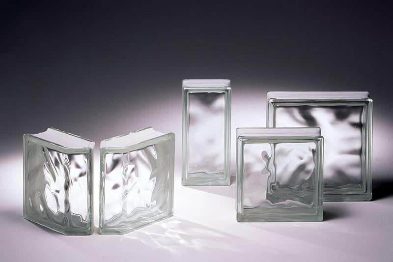 Najčastejšie formáty sklenených tvárnic - sklobetón