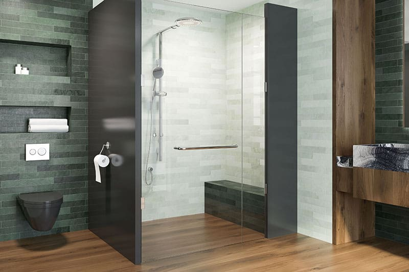 Múrované sprchové kúty
