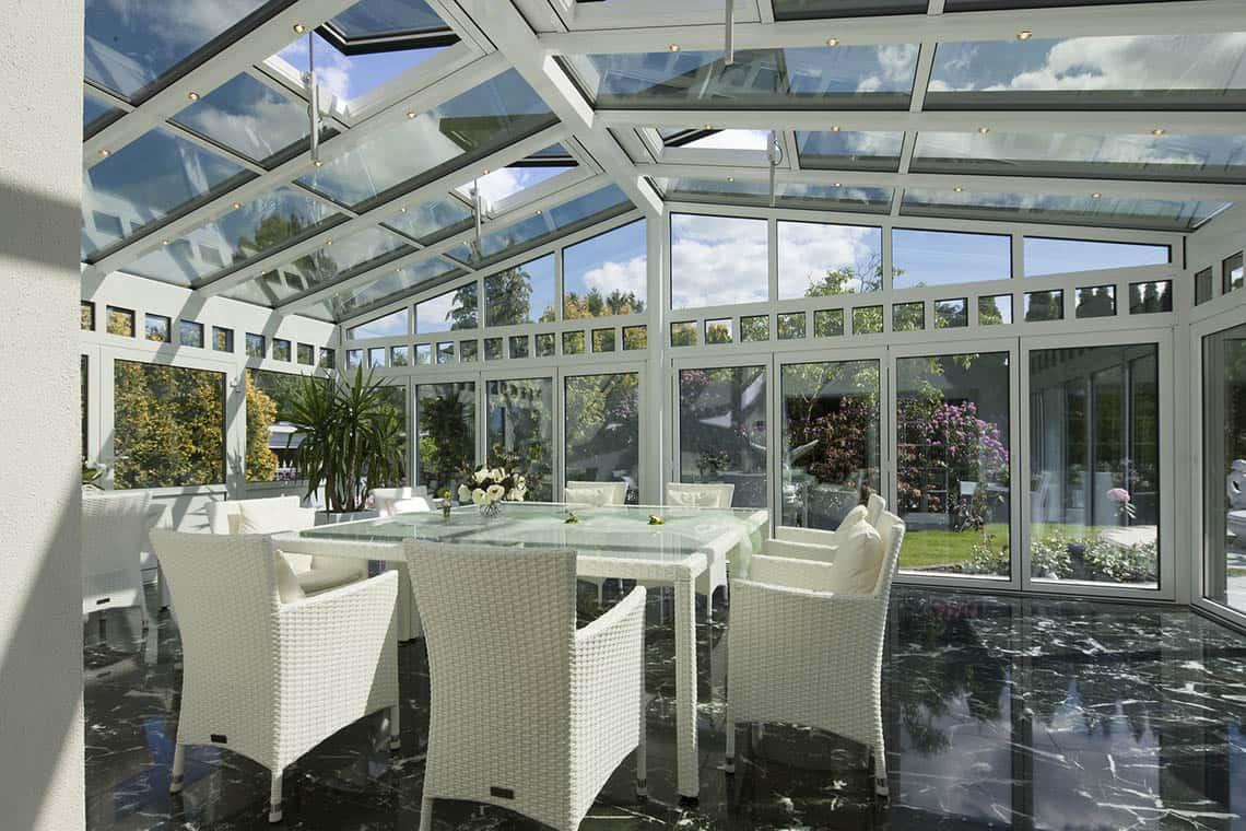 Aká zimná záhrada splní okrasnú aj praktickú funkciu?
