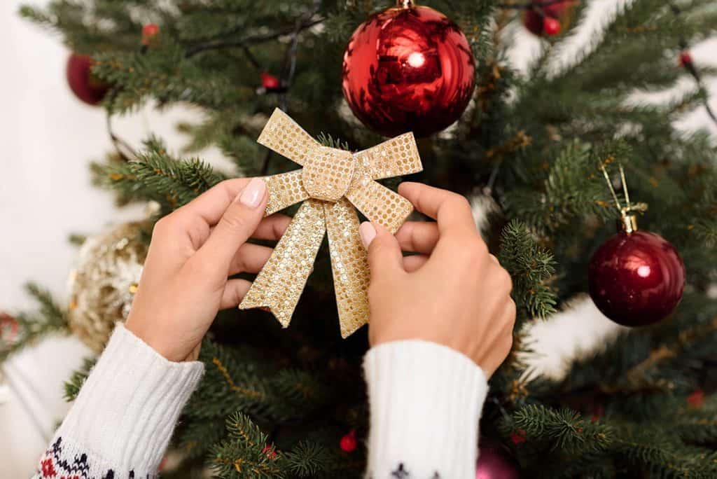 originálne ozdoby na vianočný stromček