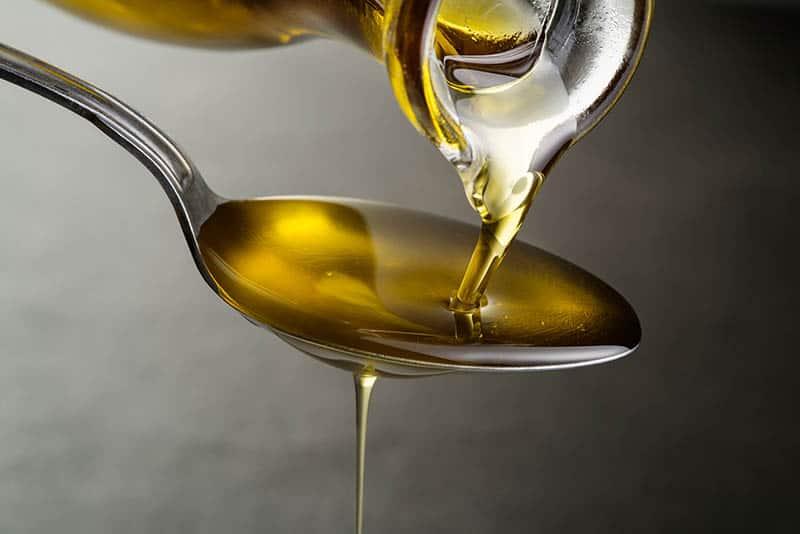 Jedna lyžička oleja - tekvicový olej