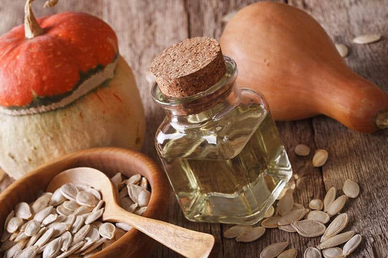 Prepraženie tekvicových semienok - tekvicový olej