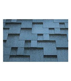 Šindeľ asfaltový - modrá strecha