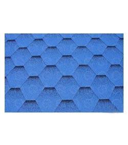 Strešný šindeľ - modrá strecha