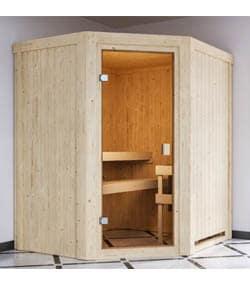 Karibu Faurin - fínska sauna v byte