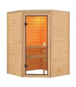 Karibu Franka - fínska sauna v byte