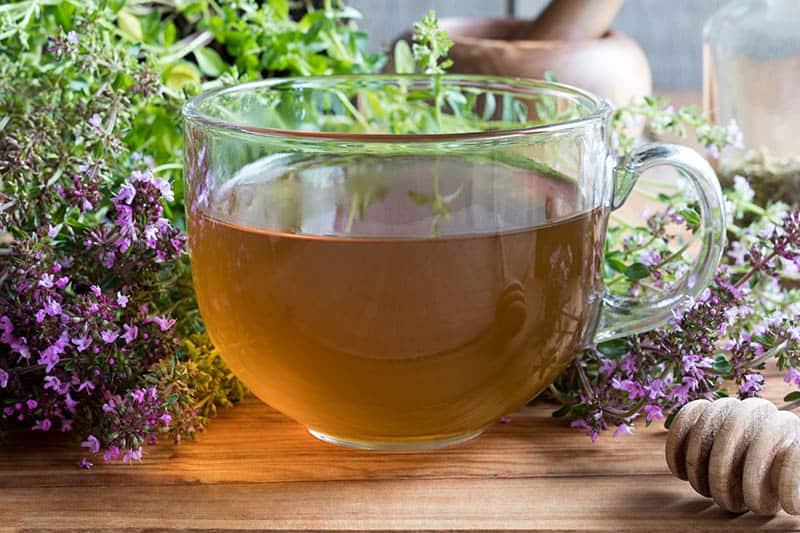 Materina dúška - čaj