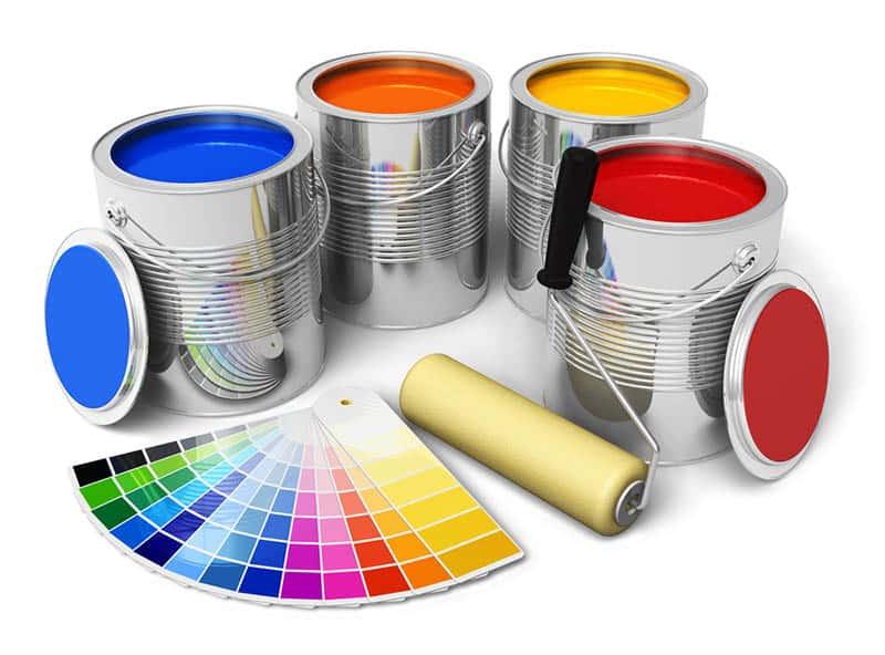 Farby v interiéri - paleta farieb