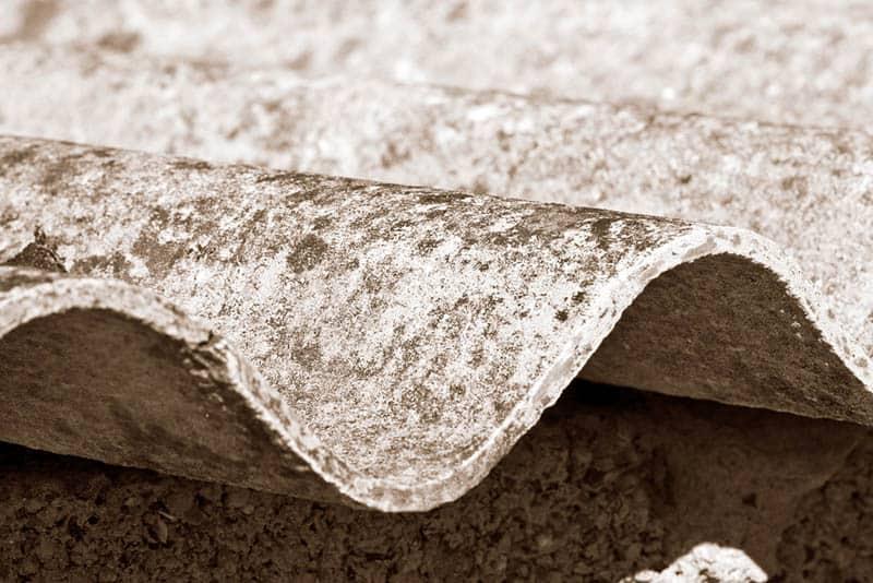 Azbestová škridľa