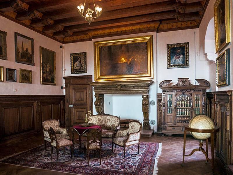 Expozície na zámku v Bojniciach
