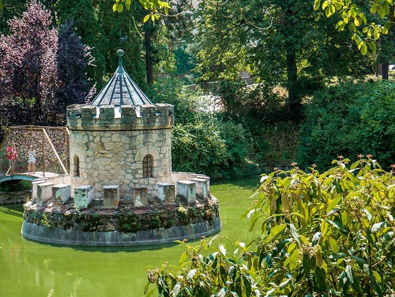 Zámocký park v Bojniciach