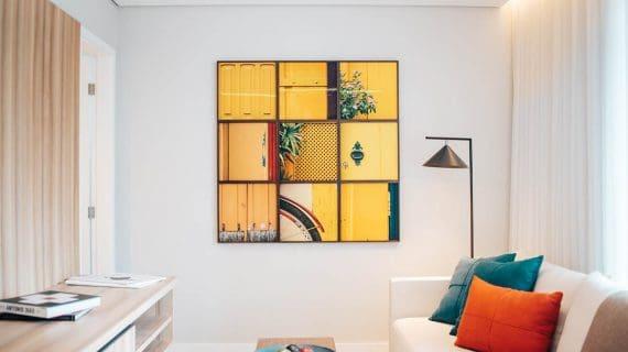 Škandinávsky štýl - obývačka