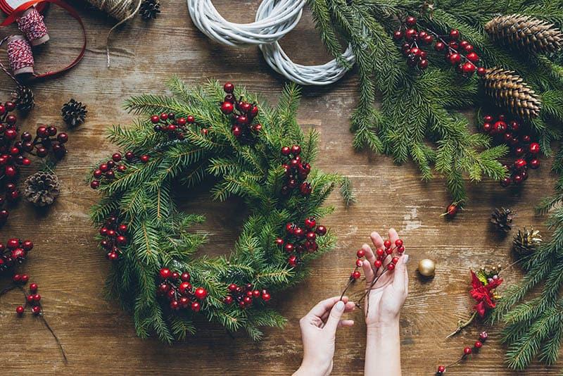 Vianočné dekorácie - Urob si sám