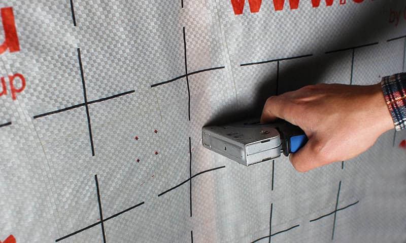 Montáž parozábrany