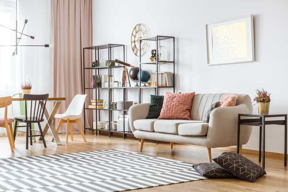 Obývačka v modernom duchu - minimalizmus