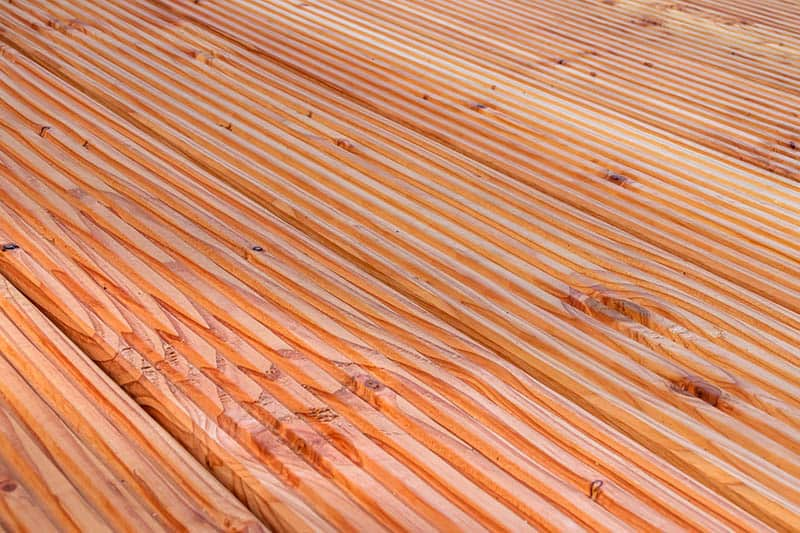 Podlaha na terasu - drevená