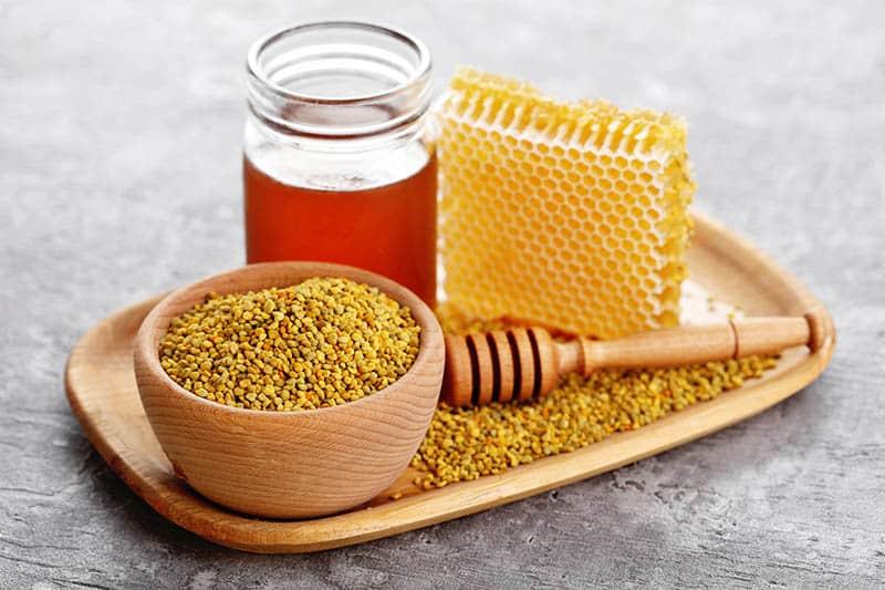 Včelí peľ