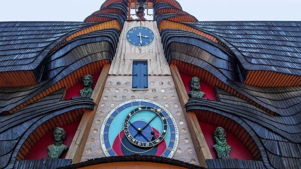 Slovenský orloj v Starej Bystrici