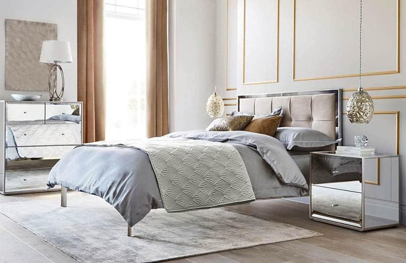 Spálňa v luxusnom prevedení