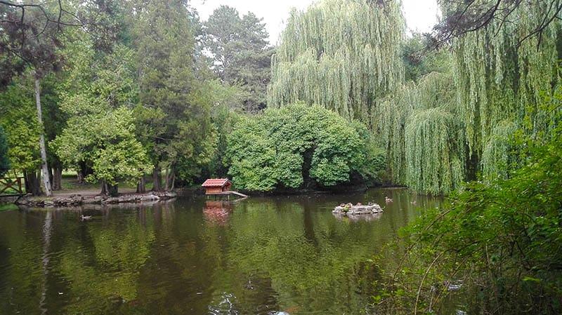 Topolčianky - zámocky park