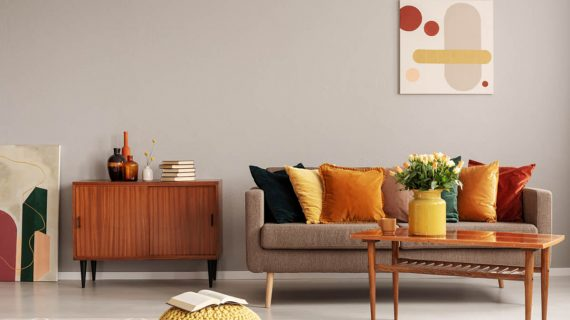 Retro obývačka