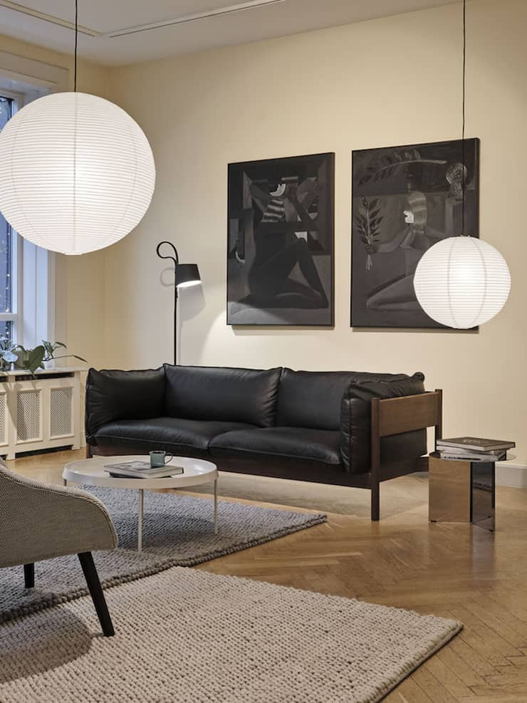 Design Ville - kožená sedačka