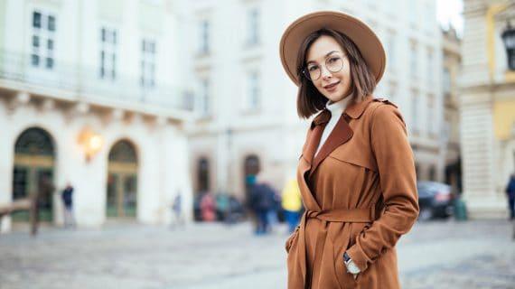 Jesenný kabát
